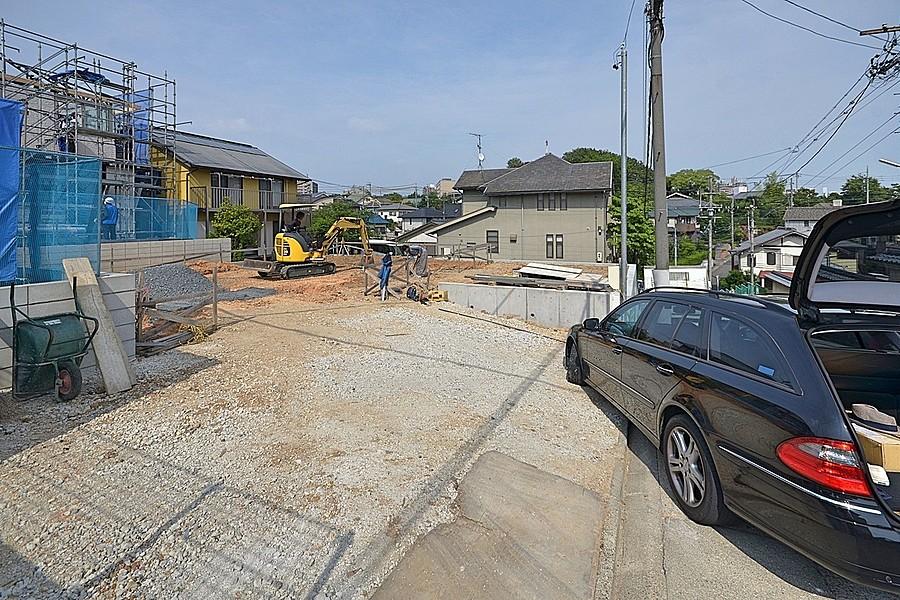 昭和区「川名山町の坂の家」→西尾市「米津の家」現場