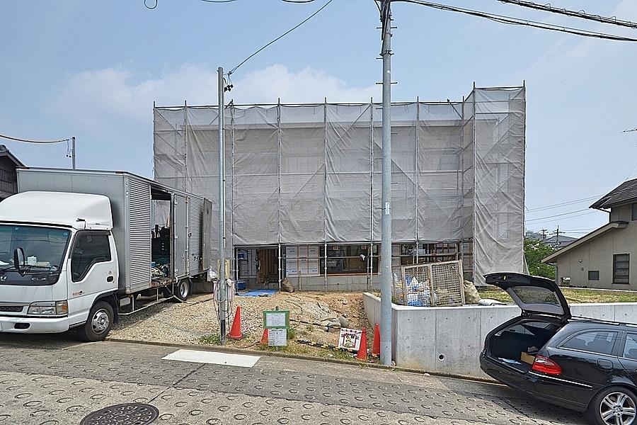 昭和区「川名山町の坂の家」中間検査