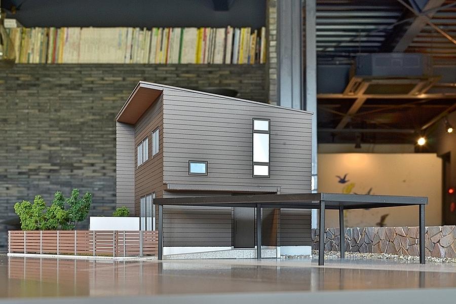 富山市「安養坊の家」1/70の表現でご提案