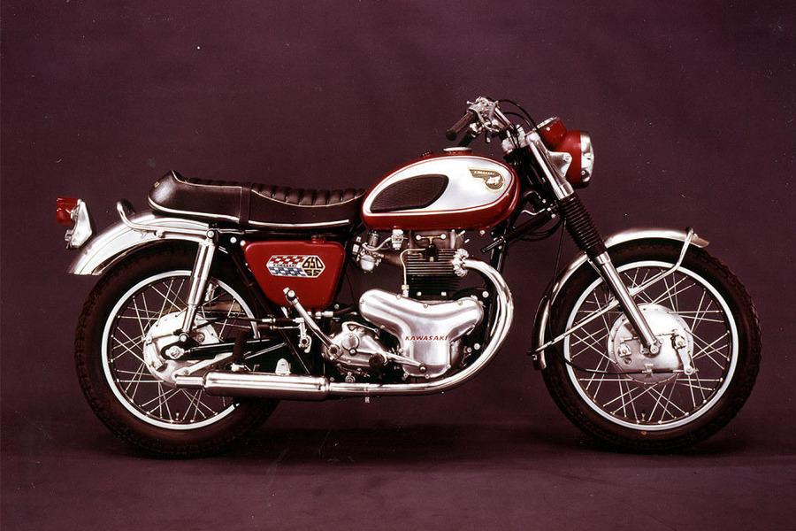 1966年製のKAWASAKI W1に憧れて