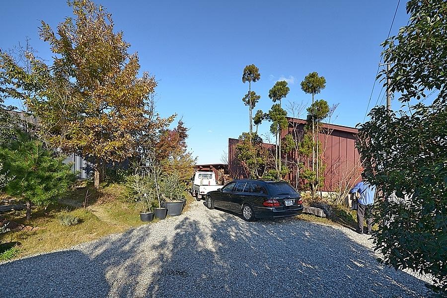 富山県射水市「Casa diagonale」植栽の打合せ