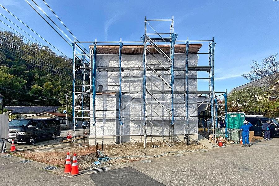 富山市「安養坊の家」上棟式
