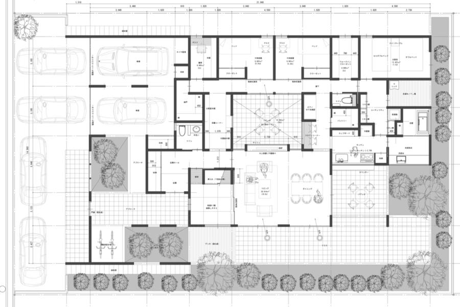 富山県高岡市「泉の家」基本設計