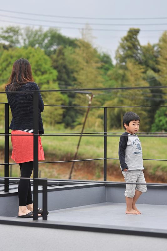 金木犀と家 神奈川県川崎市