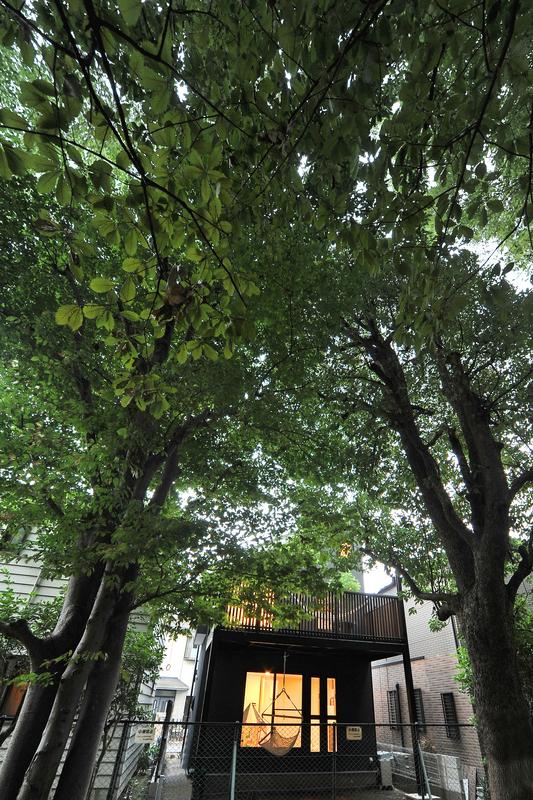 ハンモックと家 東京都狛江市