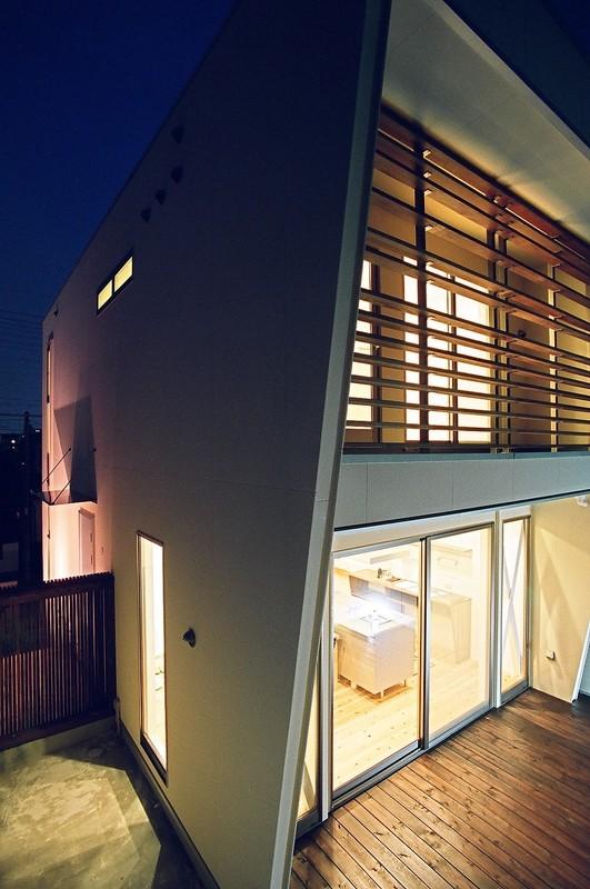 白い箱の家 愛知県名古屋市