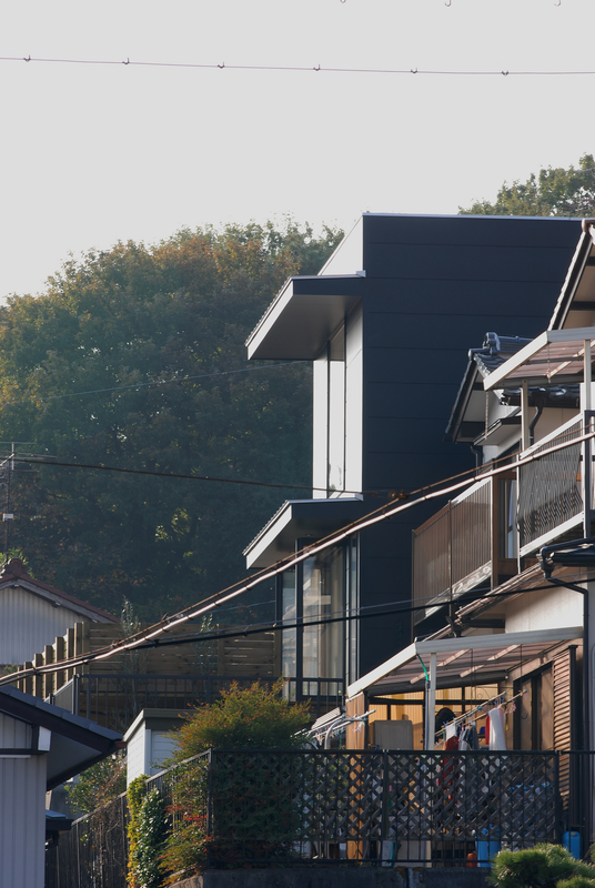 黒い箱の家 愛知県